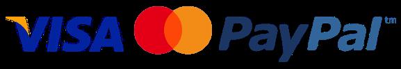 PayPal, VISA, Master